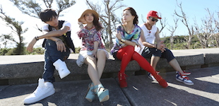 表演者:囊括亞洲強國的完美混搭四人組 Asian 4 Front